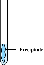 Test for ions - precipitation reaction